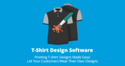 T-shirt design software For apparel design