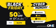 TheOneSpy Black Friday & Cyber Monday Deals 50% Flat OFF on All Produc